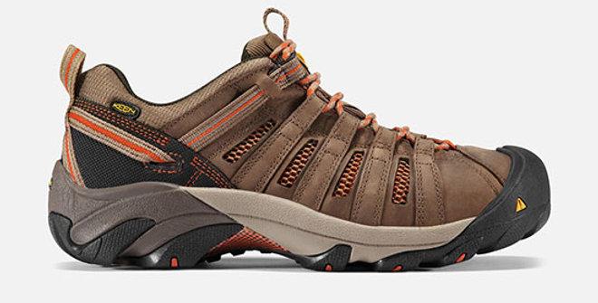 Keen Men's Flint Low Steel Toe Shoe