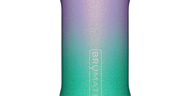 Brumate Hopsulator Slim Glitter Mermaid 12-oz