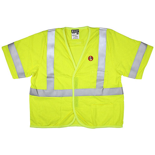 CVEC MCR Safety FR Class 3 Mesh Vest (Order as needed)
