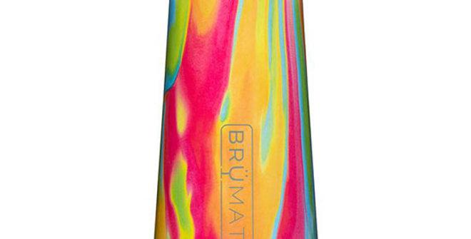 Brumate Champagne Flute Tie-Dye 12 OZ
