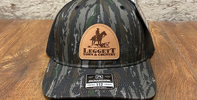Richardson 112 Leggett Town and Country Leather Patch Hat