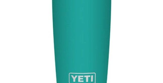 Yeti Rambler 20 oz Tumbler with Magslider Lid - Aquifer Blue