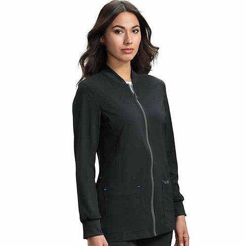 Koi Women's Andrea Zip Front Solid Scrub Jacket