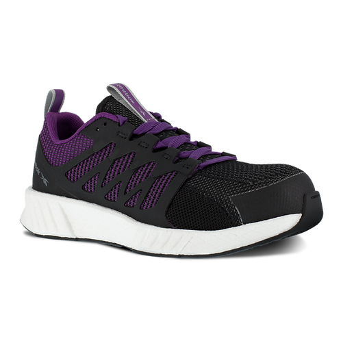 Reebok Women's Flexweave Purple Work Shoe