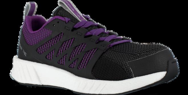 Reebok Women's Flexweave Purple Work Shoe
