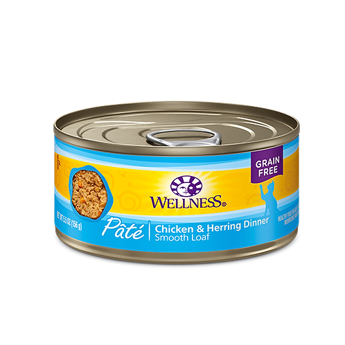 Wellness Complete Health Pate Chicken and Herring
