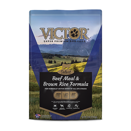 Victor Beef Meal and Brown Rice Formula - 40 lb. bag