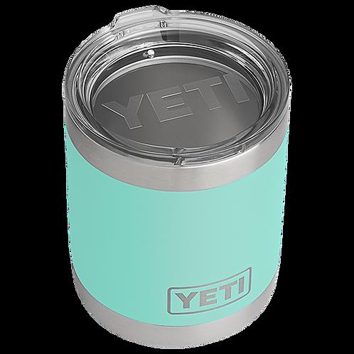 Yeti Rambler 10 oz Lowball with Standard Lid - Seafoam