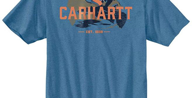 Carhartt Men's Relaxed Fit Short Sleeve Graphic T-Shirt
