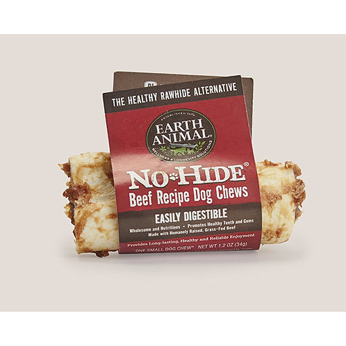 No Hide Beef Recipe Dog Chews - Small