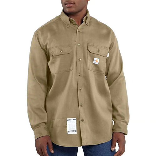 Carhartt Men's Flame-Resistant Lightweight Twill Shirt