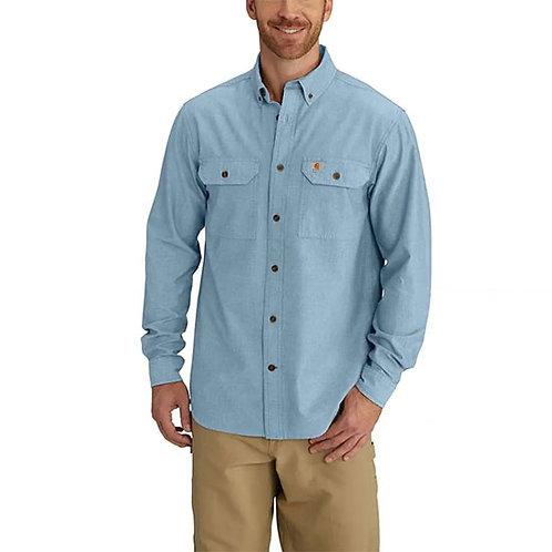 Carhartt Men's Fort Long Sleeve Chambray Shirt