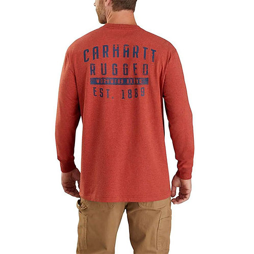Carhartt Men's Original Fit Heavyweight Long-Sleeve Pocket T-Shirt