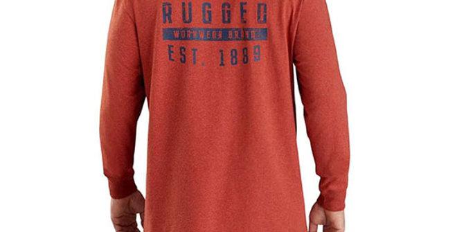 Carhartt Men's Original Fit Heavyweight Long-Sleeve Pocket T-Shirt