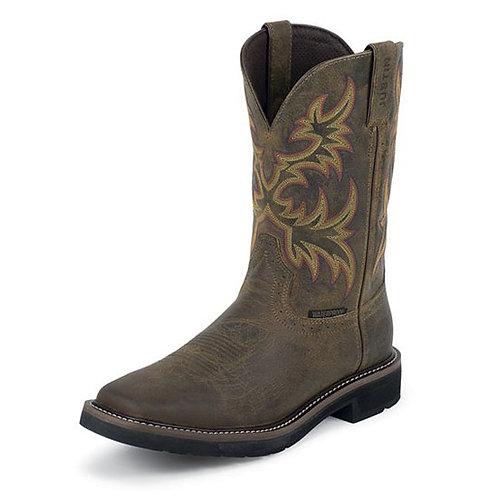 Justin Driller Waterproof Boot
