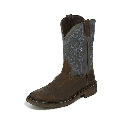 Justin Amarillo Slate Waterproof Boot