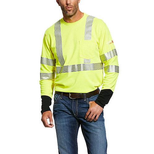 RWEC Ariat Men's FR Hi-Vis T-Shirt