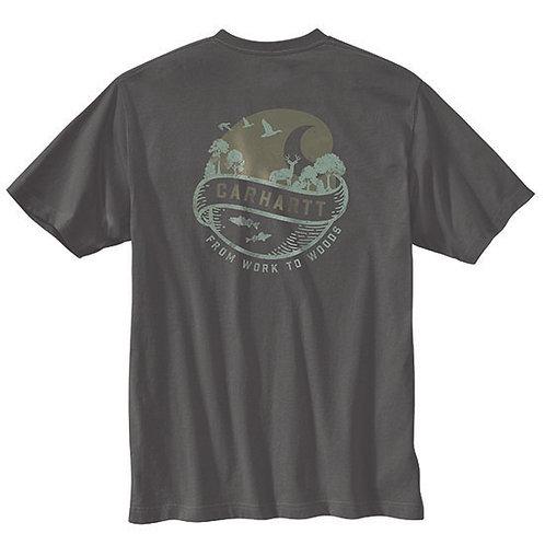 Carhartt Men's Loose Fit Woods Graphic T-Shirt