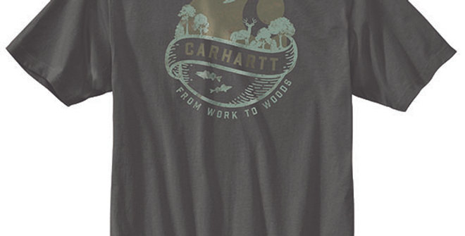 Carhartt Men's Loose Fit Woods Graphic T-Shirt