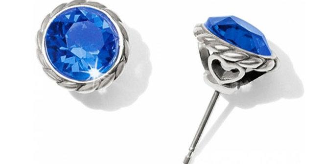 Brighton Sapphire Stud Earrings