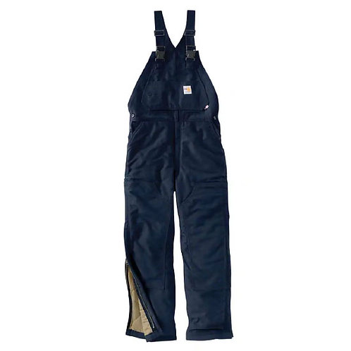 Carhartt Flame-Resistant Duck Bib Overall Quilt Lined CP