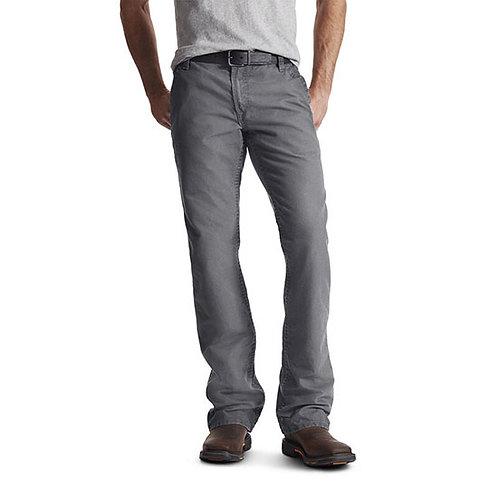 CVECC Ariat FR M4 Low Rise Boot Cut Pant in Grey