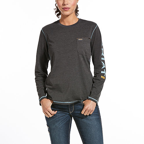 Ariat Rebar Women's Workman Logo T-Shirt
