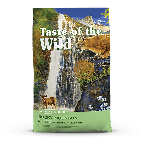 Taste of the Wild Rocky Mountain Feline Recipe - 5 lb. bag