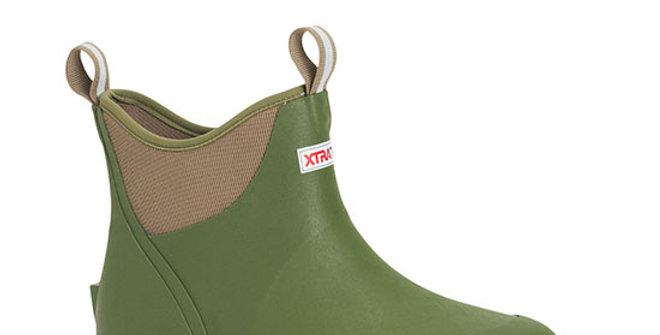 XtraTuf Men's Wheelhouse Ankle Deck Boot - Green