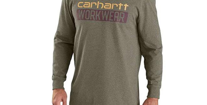 Carhartt Men's Original Fit Heavyweight Long-Sleeve Workwear T-shirt