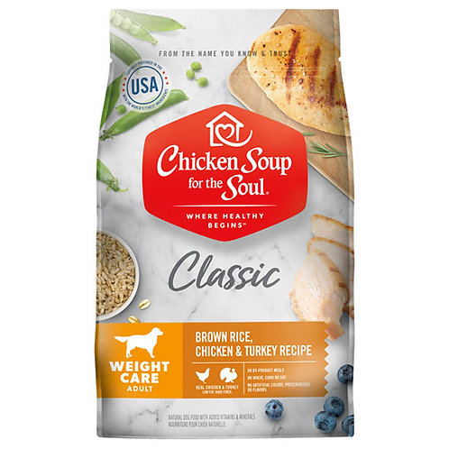 Chicken Soup Weight Care Chicken, Turkey & Brown Rice - 28 lb. bag
