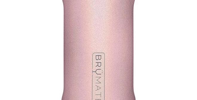 Brumate Hopsulator Slim Glitter Blush 12-oz
