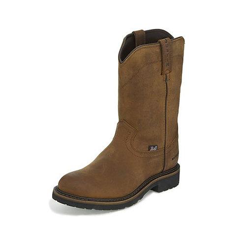 Justin Drywall Pull-on Waterproof Boot