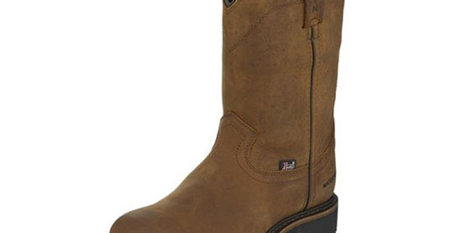 Justin Drywall Pull-on Waterproof Boot