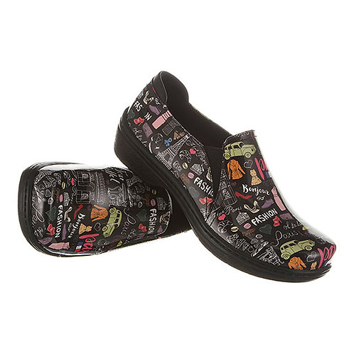 Klogs Footwear Moxy Paris Patent Clog