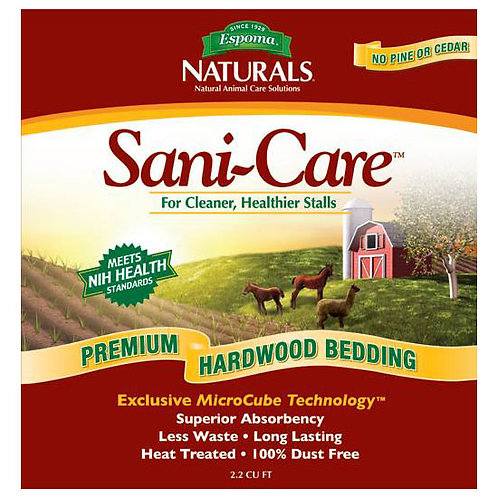 Sani-Care Premium Hardwood Bedding - 30 lb. bag