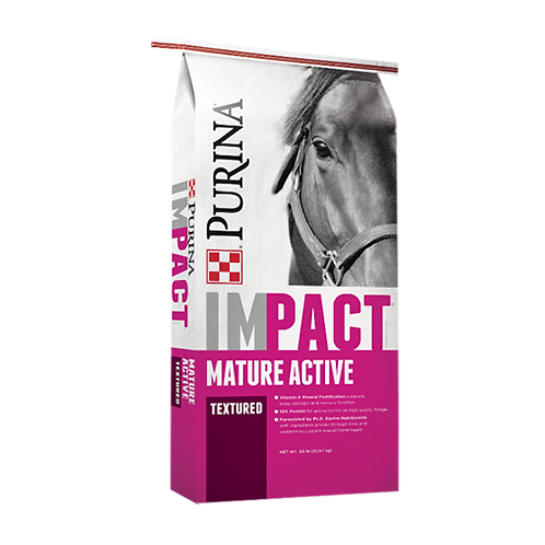 Purina Impact Textured 10-10 Horse Feed - 50 lb. bag