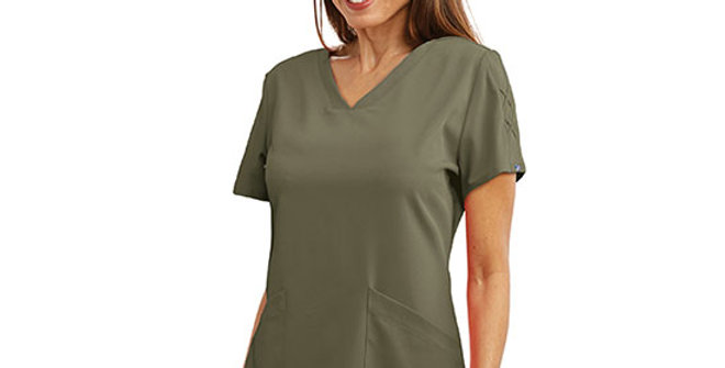 Grey's Anatomy Astra V-Neck Scrub Top