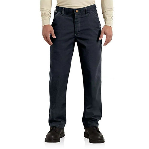 Carhartt Men's Flame-Resistant Washed Duck Work Dungaree