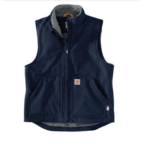 SVEC Carhartt Men's FR Duck Sherpa Lined Vest