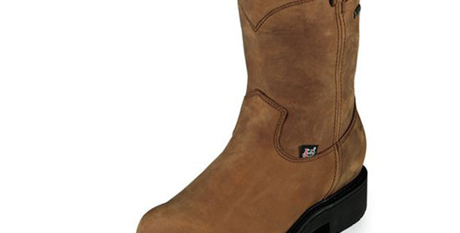 Justin Transcontinental Brown Gore-Tex Boot