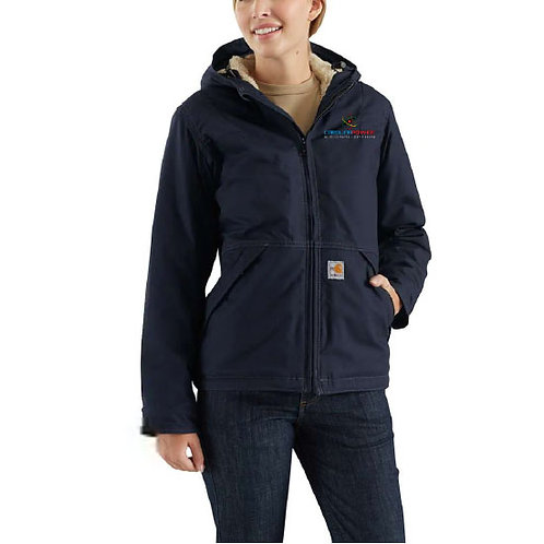 Carhartt Women's Full Swing Quick Duck Sherpa-Lined FR Jacket CP