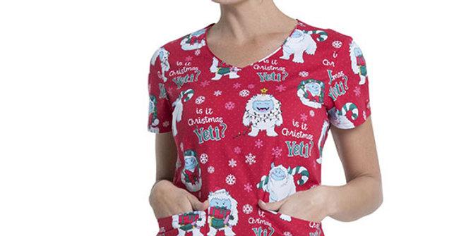 Dickies Yeti for Christmas Top
