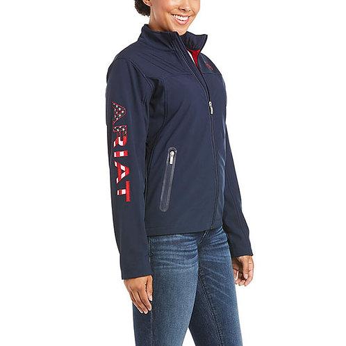 Ariat Women's USA Team Softshell Jacket