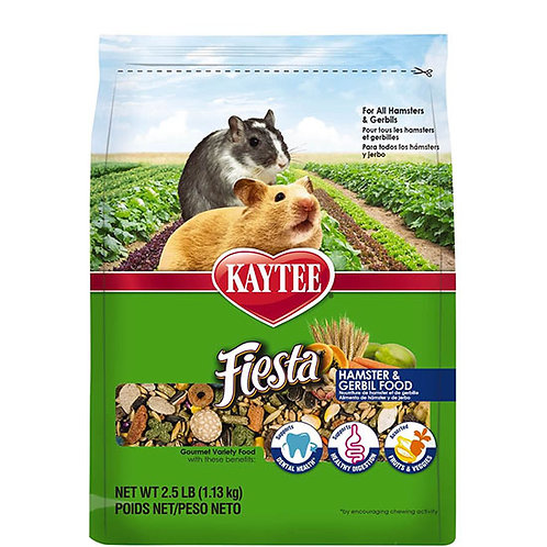 Kaytee Fiesta Hamster and Gerbil Food - 2.5 lb. bag