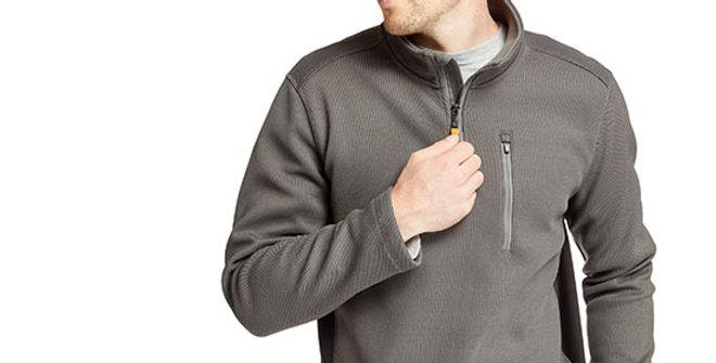 Timberland Pro Men's Studwall 1/4-Zip Fleece Pullover