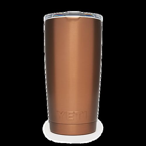Yeti Rambler 20 oz Tumbler with Magslider Lid - Copper
