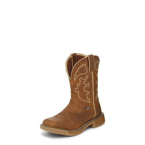Justin Rush Rustic Tan Boot