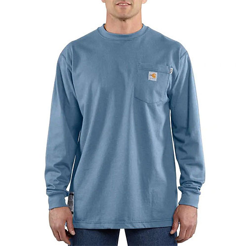 Carhartt Force Men's Flame-Resistant Long-Sleeve T-Shirt
