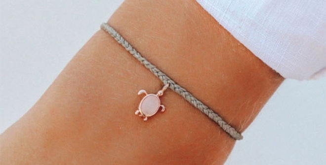 Pura Vida Rose Gold Save the Sea Tutle